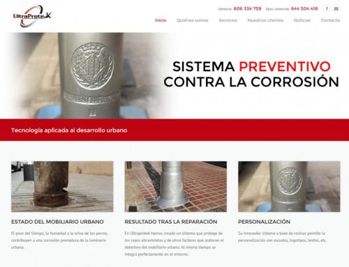 SubeaInternet desarrolla la web de Ultraprotek